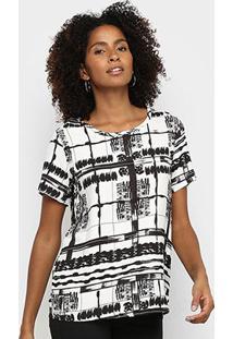 Camiseta Triton P&B Square Feminina - Feminino