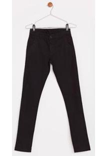 Calça Use Jeans Express Infantil Peter Masculina - Masculino-Preto