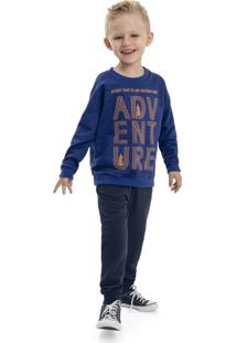 Casaco Quimby Infantil Azul