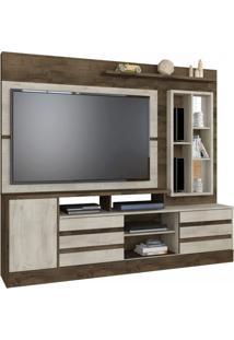 Estante Home Para Tv Até 42 Polegadas Genebra Atualle Móveis