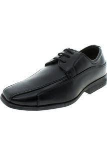 Sapato Infantil Masculino Com Cadarço Preto Broken Rules - 95013