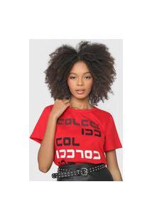Camiseta Colcci Logo Vermelha