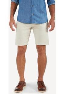 Bermuda Chino Colors Oficina - Masculino-Off White