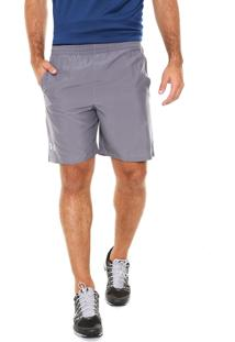Short Under Armour Lauch 7 Solid Cinza