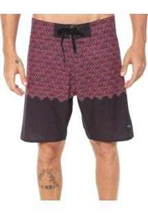 Bermuda Rvca Boardshort Dutch Trunk - Masculino