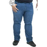 38469d0de Calça Jeans Plus Size Bigshirts Stone - Azul