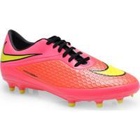 Chuteira Masc Nike 599730-690 Hypervenom Phelon Fg Pink Coral Limao f73a8270db5c2