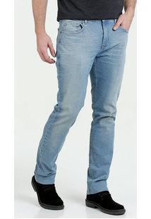 Calça Masculina Jeans Stretch Nervuras Marisa
