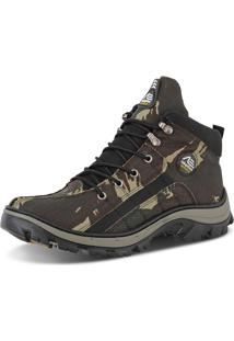 Bota Adventure Adaption Verde Militar