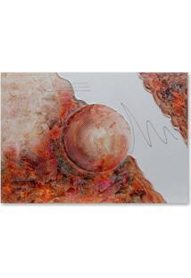 Quadro Abstrato I Uniart Colorido 70X100Cm