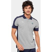 Netshoes. Camisa Polo Puma Bmw Masculina - Masculino 467e399257543
