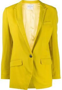 Forte Forte Jaqueta Com Abotoamento Simples - Amarelo