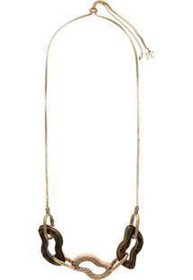 Fillity Colar Com Pingentes - Dourado