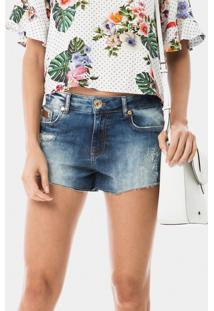 Shorts Hawaii Curto Jeans - Lez A Lez