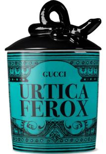 Gucci Vela Freesia Urtica Ferox Grande - Azul