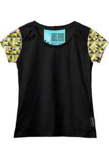 Camiseta Baby Look Feminina Algodão Estampa Casual Estilo - Feminino