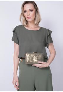Clutch Alça De Corrente Lança Perfume - Feminino
