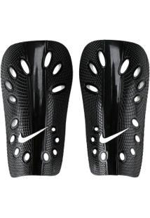 Caneleira De Futebol Nike J Guard - Adulto - Preto