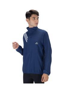 Jaqueta Adidas Own The Run 3S - Masculina - Azul Escuro