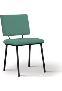 Cadeira De Jantar Antonella Azul Esverdeado