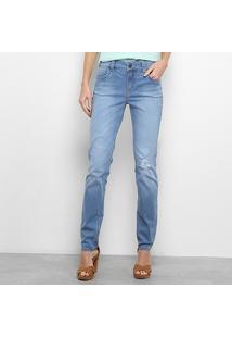 Calça Jeans Reta Colcci Katy Cintura Média Feminina - Feminino f43c22d4826