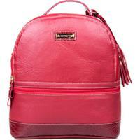 Mochila Feminina Artlux Bag - Feminino-Vermelho 61e8e42644