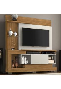 Estante Para Tv Até 50 Polegadas 1 Porta Nt 1060 Freijó/Off White - Notável