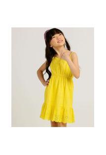 Vestido Infantil Laise Sem Manga Marisa Tam 4 A 10