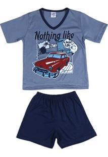 Pijama Curto Infantil - Masculino