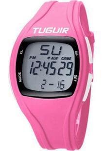 Relógio Romaplac Tuguir Digital - Unissex-Rosa