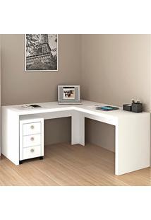 Mesa Para Computador De Canto Me4116 - Tecno Mobili - Branco