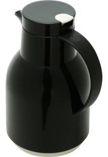 Garrafa Térmica Rojemac De Plástico Com Gatilho Julia Preta