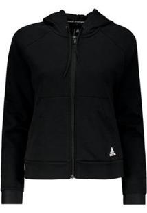 Jaqueta Adidas Hoodie - Feminino-Preto