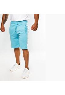 Bermuda Top Fit Advance Celeste Masculina - Masculino-Azul Claro