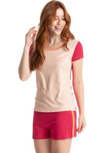 Pijama Curto Pop Colors