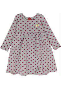Vestido Infantil Mescla