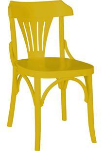 Cadeira De Jantar Opzione Amarelo