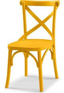 Cadeira X Cor Amarelo - 31323 - Sun House