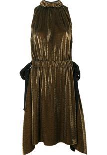 Fendi Vestido Sem Mangas - Metallic