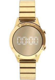 Relógio Euro Digital Reflexos Sabrina Sato Feminino - Feminino-Dourado