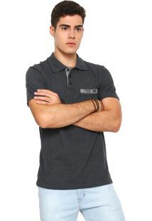 96129da7a2 Camisa Polo Rusty Reta Bearhave Preta