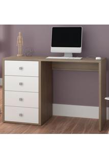 Mesa De Computador Com 4 Gavetas Bc61 - Brv Elare