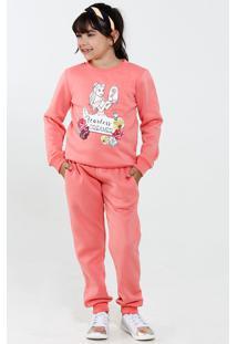 bbc5a27b8 Moletom Para Menina Flanela Princesa infantil
