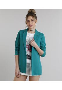 Blazer Feminino Oversized Verde