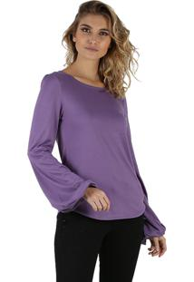 T-Shirt It'S & Co Britain Purple
