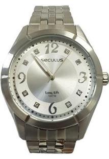 Relógio Feminino Seculus Analógico 20279L0Svna2 - Unissex-Prata