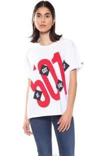 Camiseta Levis Graphic Ex Boyfriend Feminina - Feminino