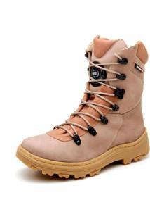 Bota Atron Shoes Motociclista Areia
