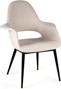 Cadeira Organic Chair Aço Carbono Artesian Clássicos De Design By Charles Eames E Eero Saarinen