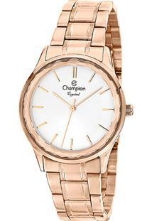 Relógio Champion Analógico Cn25574Z Feminino - Feminino-Rosê